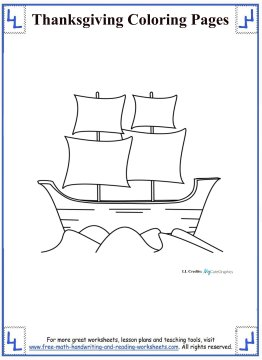 thanksgiving coloring pages 9