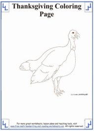 thanksgiving coloring sheets 1