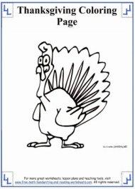 thanksgiving coloring sheets 2