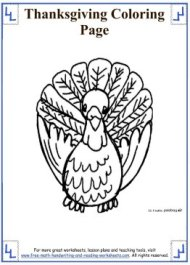 thanksgiving coloring sheets 4