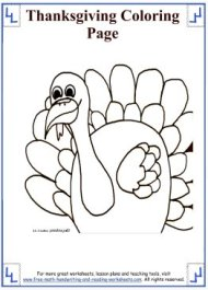 thanksgiving coloring sheets 6