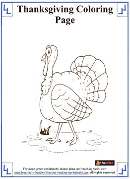 thanksgiving coloring sheets 8