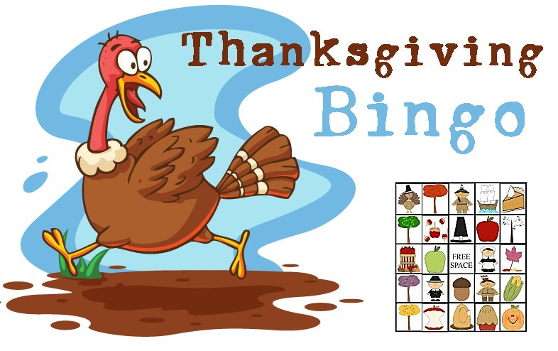 image relating to Thanksgiving Bingo Printable referred to as Thanksgiving Get together Video games - Printable Bingo Playing cards