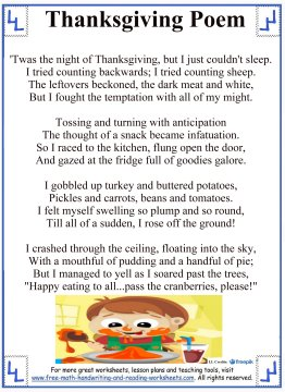 thanksgiving poems 7
