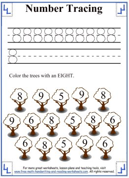 tracing numbers 3