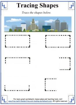 tracing shapes 2