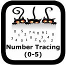 tracing numbers 0-5