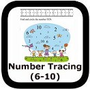 tracing numbers 00