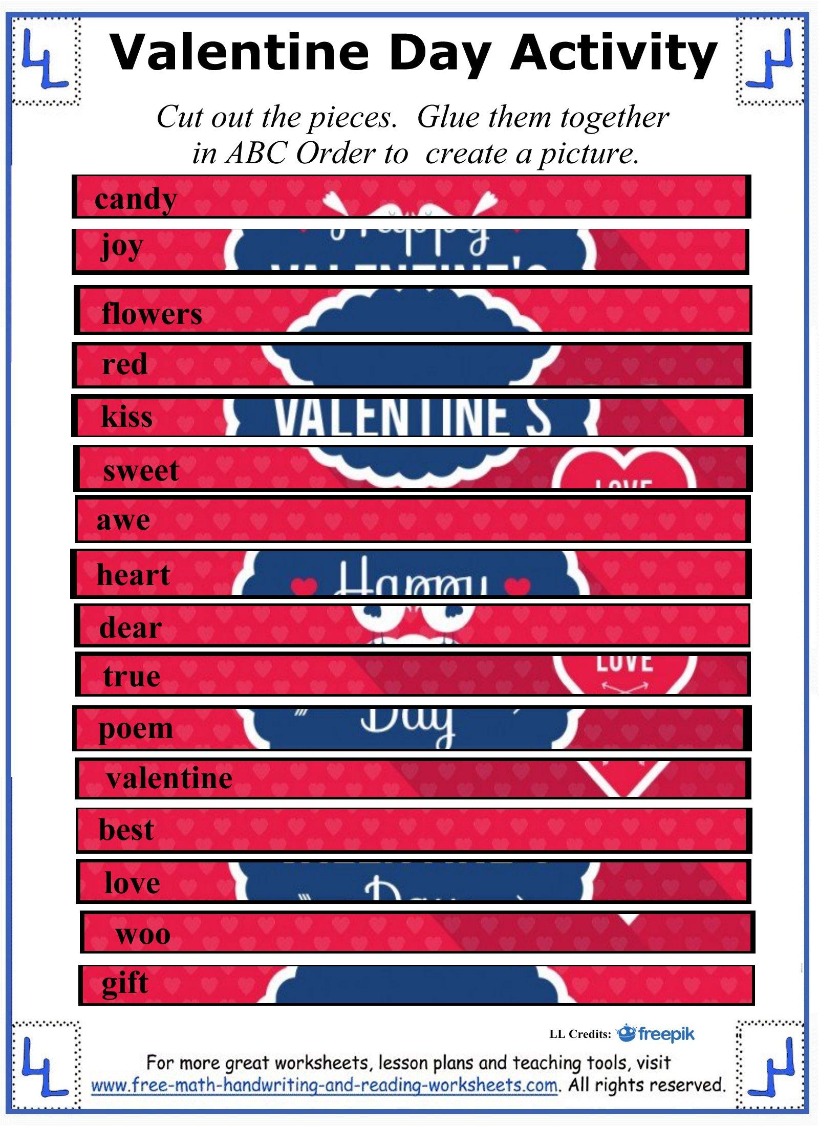 valentine day activity 1
