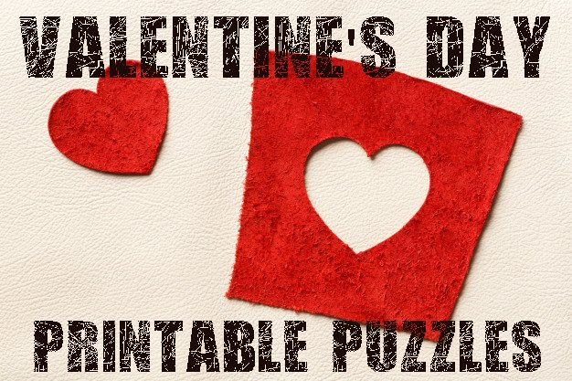 Print Out Your Valentine Day Puzzles Cut The Pieces And Glue Them Together For A Quick Valentines Activity Crafts Coloring Pages Too