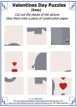 valentine puzzles 1