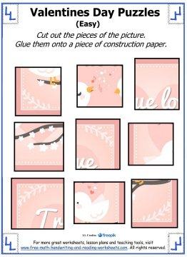 valentine puzzles 4