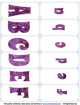 alphabet flash cards 1