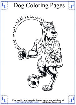 dog coloring pages 15