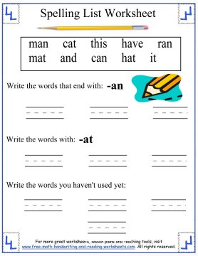 Reading And Writing Worksheets For 1st Grade - Scalien