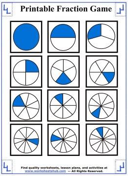fraction games 1
