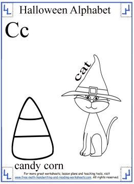 halloween coloring C