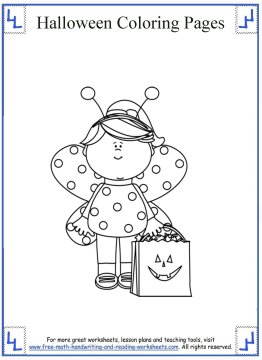 halloween coloring pages 4