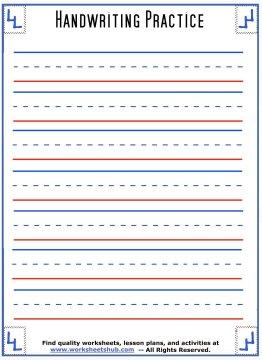 handwriting sheets 2