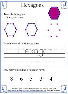 hexagon shape 1