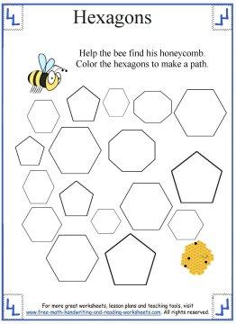 hexagon shape 3