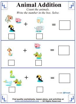 kindergarten addition 4