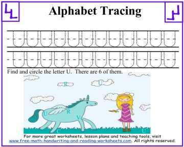letter tracing 3