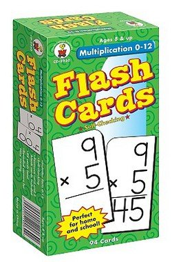 multiplication flash cards 1
