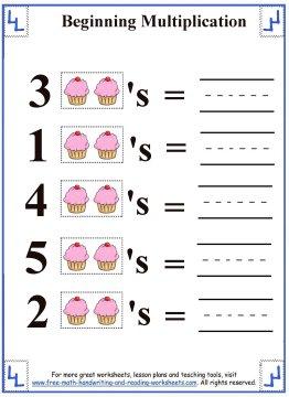 multiplication for kids 2