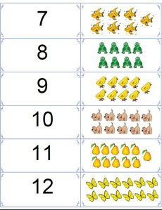 number flashcards 2