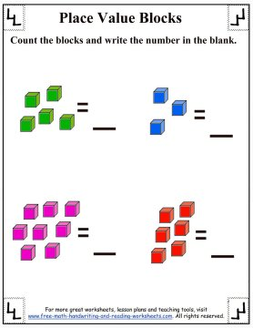place value blocks 1