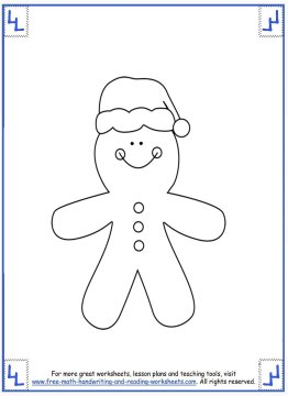 printable christmas coloring pages 5