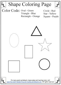 shape coloring pages 2