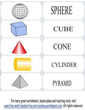 shape flashcards 6