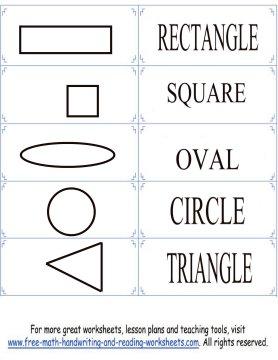 shape flashcards 1