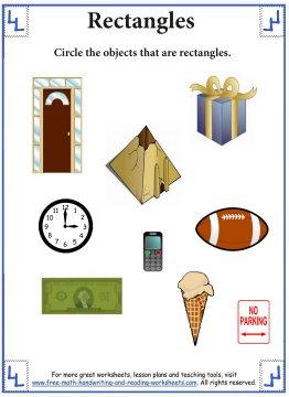 properties of rectangles worksheet pdf