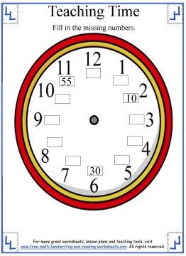 teaching time 2