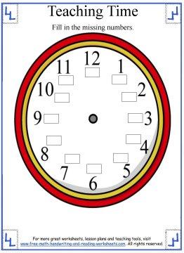 teaching time 3