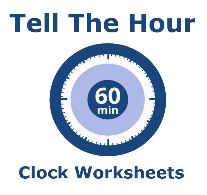 time worksheets telling the hour. Black Bedroom Furniture Sets. Home Design Ideas