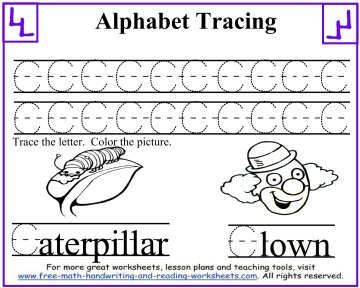 tracing letters 3