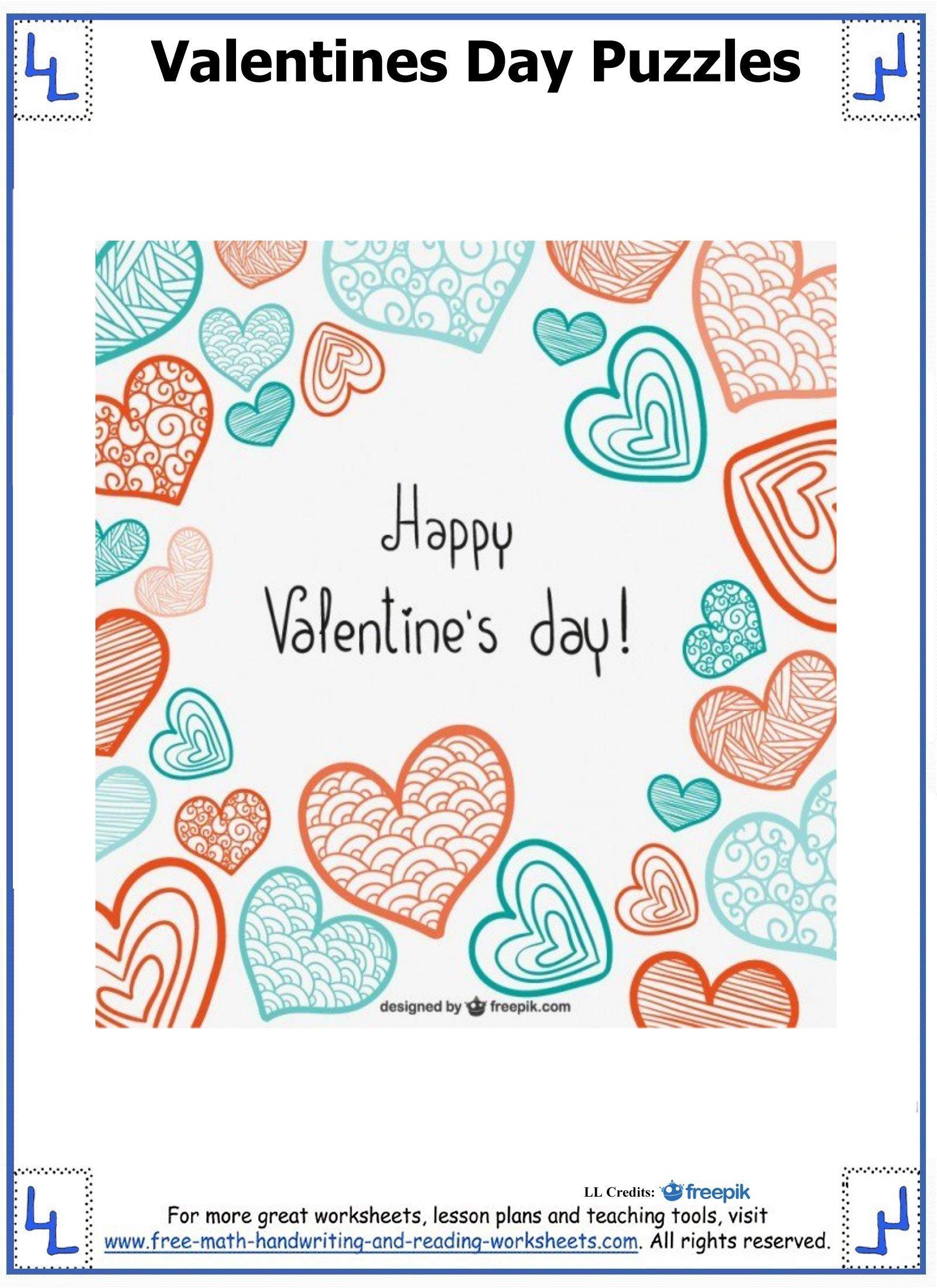 valentine day puzzles 4