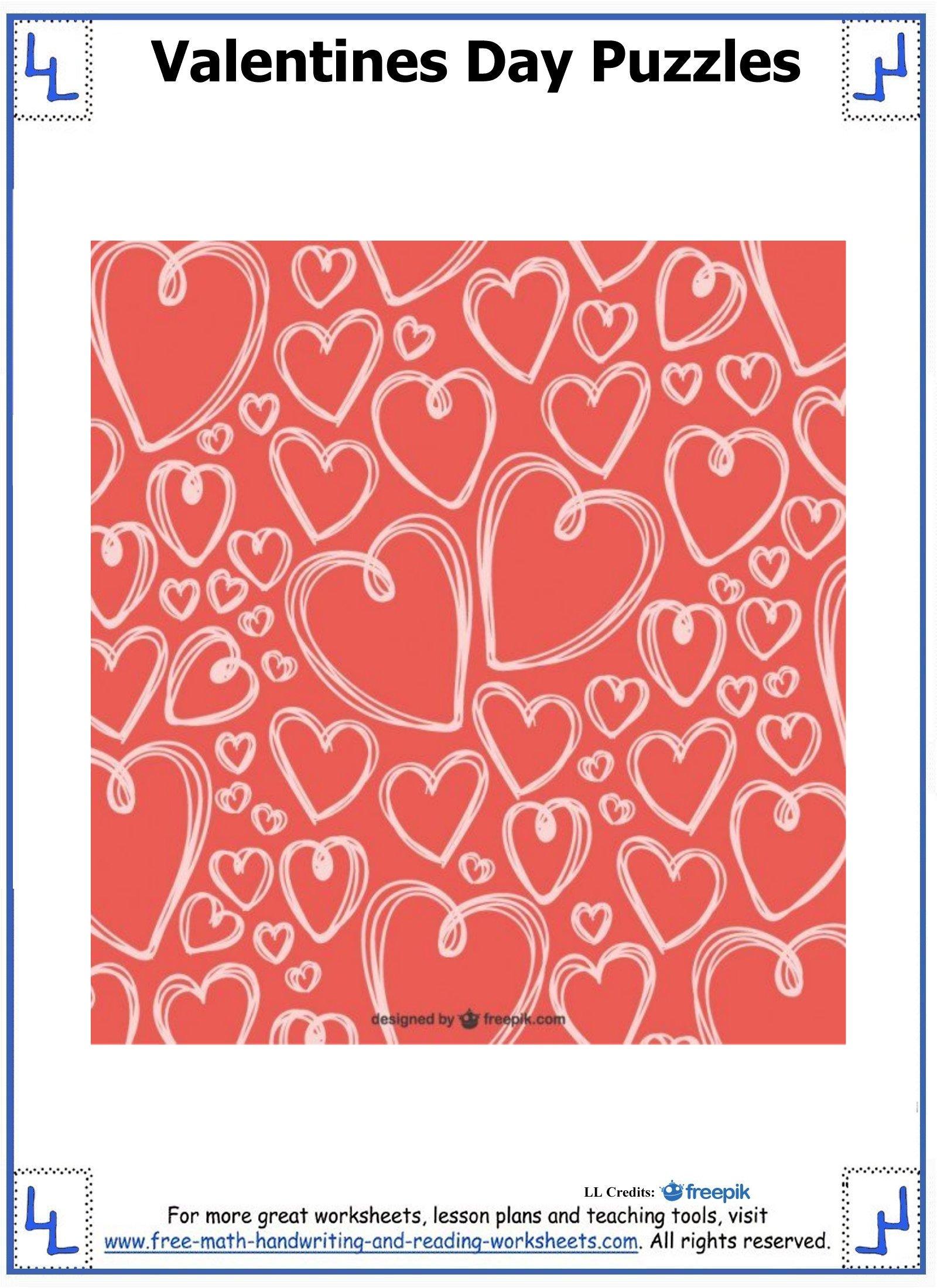valentine day puzzles 5